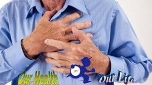 having heart attack