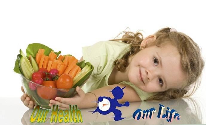 diet routine for child nutrition