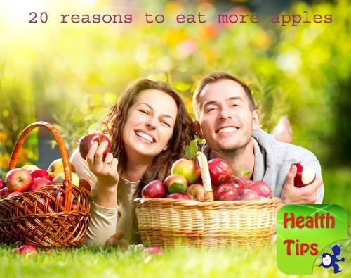 20 reasons to eat more apples