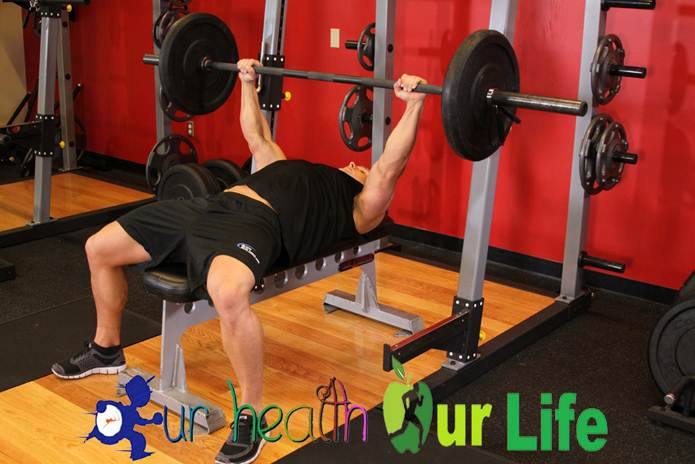 How to gain weight fast - Bench press