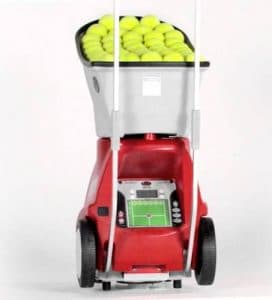 Lobster Sports Elite Grand V Portable Tennis Ball Machine