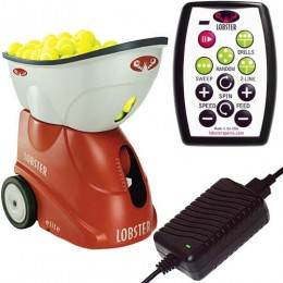 Lobster Sports Elite Grand V Limited Edition Portable Tennis Ball Machine
