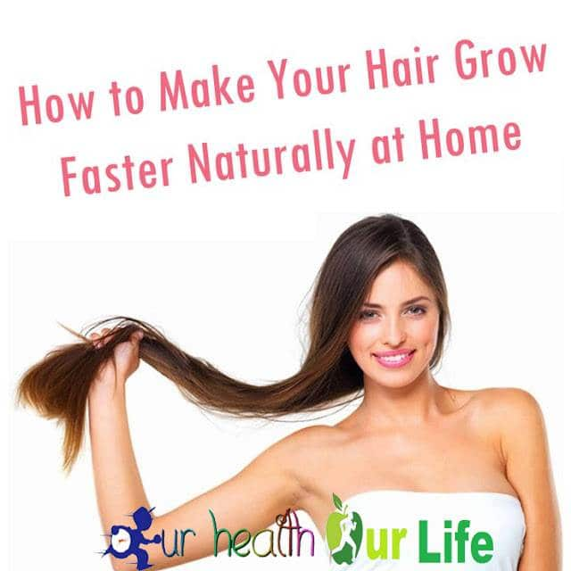 How To Grow Hair Very Fast Naturally