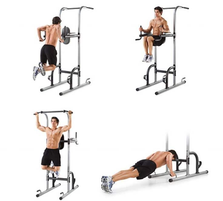 Best power tower workout