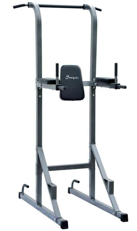Soozier fitness power tower w/dip station pull up bar