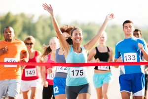 How to have a successful first running race