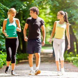 How many calories burn walking a mile