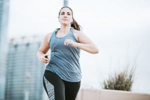 How many calories does running a mile burn?