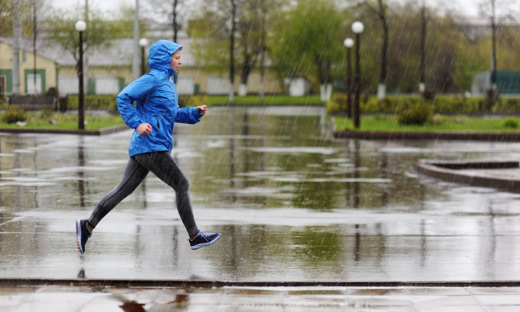 Tips for running in the rain time