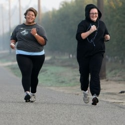 Running tips for overweight runners