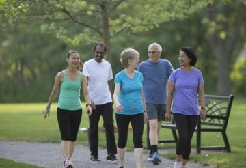 Tips for walking with diabetes
