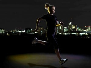 Ways to stay safe when running at night or in the morning