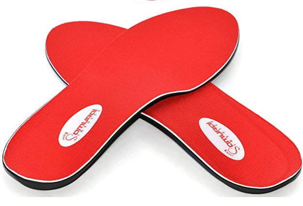 Instant Relief Orthotics for Flat Feet by Samurai Insoles