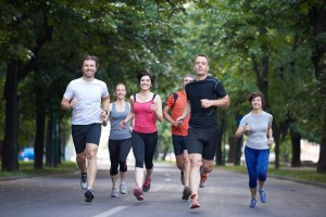 Benefits of running with a group or joining a running club