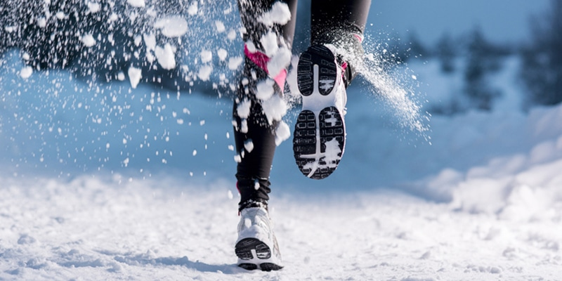 Running In Snow and Ice